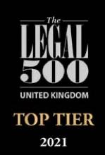 Legal 500 UK Top Tier 2021